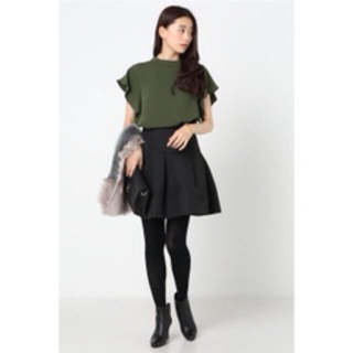 ノーブル(Noble)のノーブルブラックスカート サイズ34(ひざ丈スカート)