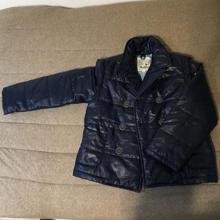 ハッカキッズ(hakka kids)の中古美品 hakka 120 Pコート型中綿入りアウター (コート)