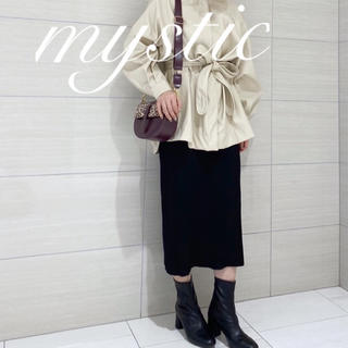 mystic - 新品♡¥6490【mystic】ランダムリブニットスカート