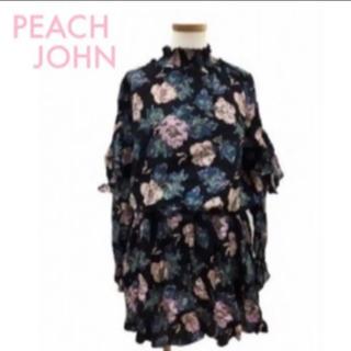 ピーチジョン(PEACH JOHN)のPEACH JOHN ピーチジョン チュニック【ハイネック 花柄】(チュニック)