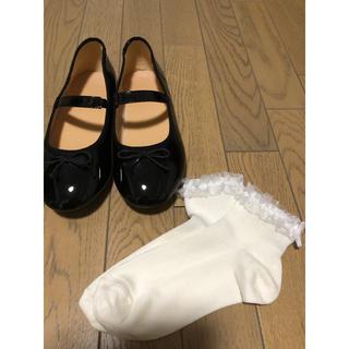 GU - バレエシューズ&靴下