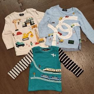 クレードスコープ(kladskap)のクレードスコープ 乗り物ロンTセット 90(Tシャツ/カットソー)