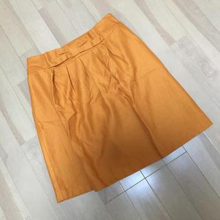 ロペピクニック(Rope' Picnic)のロペピクニック ウエストリボン スカート ●(ひざ丈スカート)