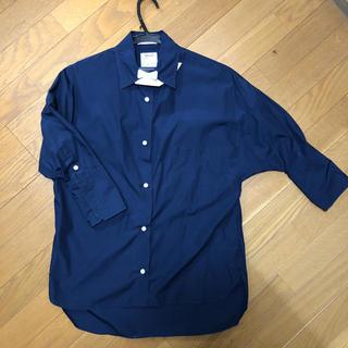 マディソンブルー(MADISONBLUE)のsuchan様専用!マディソンブルー  ネイビーシャツ 01(シャツ/ブラウス(長袖/七分))