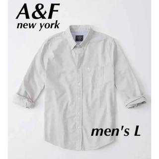 アバクロンビーアンドフィッチ(Abercrombie&Fitch)の【新品】abercrombie&fitch アバクロ Yシャツ(シャツ)