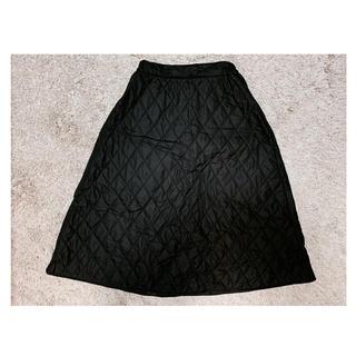 バックナンバー(BACK NUMBER)のキルティングフレアスカート(ひざ丈スカート)