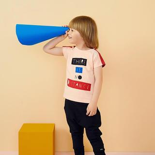 コドモビームス(こども ビームス)のpapu カラーブロック Tシャツ(Tシャツ)