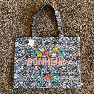 ボンポワン(Bonpoint)の新品 タグ付き✳︎Bonpoint ボンポワン リバティ柄 トートバッグ(トートバッグ)