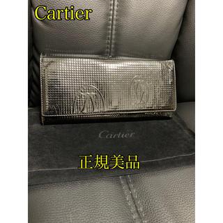 Cartier - 【美品】カルティエ L3001240 ハッピーバースデー エナメル 長財布