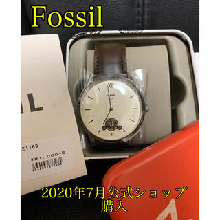 FOSSIL - 【新品未使用】fossil NEUTRA TWIST_ME1169 腕時計 正規
