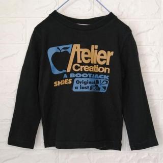 クリフメイヤー(KRIFF MAYER)のクリフメイヤー カジュアルプリントTシャツ 100(Tシャツ/カットソー)