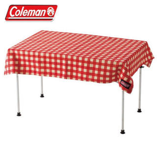 コールマン(Coleman)のコールマン テーブルクロス レッドチェック Coleman(テーブル/チェア)