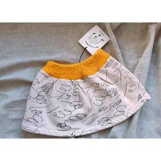 こどもビームス - 新品 bobochoses ボボショセス 鳥 バード柄 裏起毛 スカート