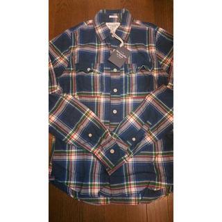 アバクロンビーアンドフィッチ(Abercrombie&Fitch)の新品未着用 アバクロ☆1枚あると便利!オシャレに決まる ネルシャツ (シャツ)