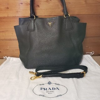 PRADA - PRADA 2way 本革バッグ