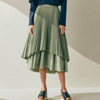 ルシェルブルー(LE CIEL BLEU)の【新品】ルシェルブルー Double High Low Hem Skirt (ロングスカート)