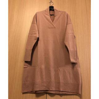 ニジュウサンク(23区)の23区 ワンピース 部屋着 セーター  カシミヤ 大きいサイズ 46 ニット(ルームウェア)