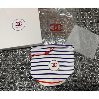 CHANEL - 未使用■新品■シャネル ノベルティ 巾着 ポーチ 小物入れ 非売品 正規品