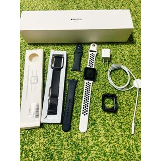 アップルウォッチ(Apple Watch)のApple Watch series 3 42mm space gray(腕時計(デジタル))