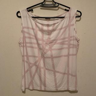 エルメス(Hermes)のエルメス タンクトップ ピンク サイズL(カットソー(半袖/袖なし))