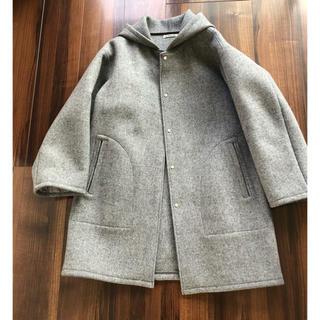 ロンハーマン(Ron Herman)のAURALEE ロンハーマン購入 USED フードウールコート シャツ パンツ(ロングコート)