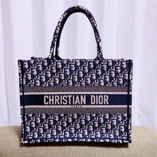 クリスチャンディオール(Christian Dior)の【レア美品】DIOR ブックトート スモール(トートバッグ)