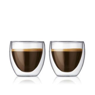 ボダム(bodum)のボダム ダブルウォールグラス 250ml×2個(グラス/カップ)