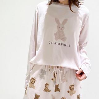 gelato pique - 正規品♡ジェラートピケ♡ぬいぐるみロングスリーブTシャツ&ショートパンツ