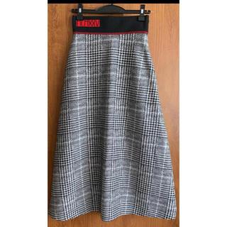 ドゥロワー(Drawer)の未使用☆FENDIチェックロングスカート36(ロングスカート)