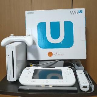 Wii U - wii Uファミリーセットホワイト ソフト2本