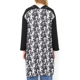 グラニフ(Design Tshirts Store graniph)のお値下げ中!グラニフ 石黒亜矢子 カンフー猫カーディガン(カーディガン)