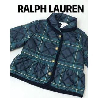 Ralph Lauren - ラルフローレン キルティングコート 中綿ジャケット 美品 70