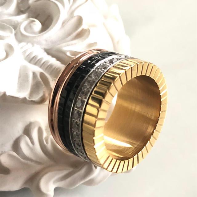 ★キャトルリング・ゴールド・US9号・新品送料込★ メンズのアクセサリー(リング(指輪))の商品写真