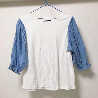 ダブルクローゼット(w closet)のw closet  カットソー(カットソー(長袖/七分))