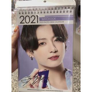 bts ジョンクグ 卓上2021カレンダー