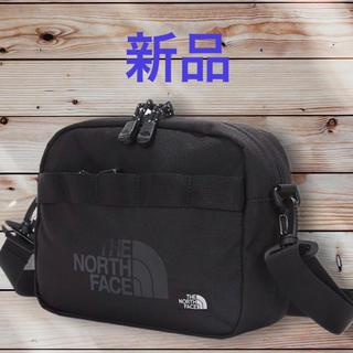 ザノースフェイス(THE NORTH FACE)の新品タグ付き☆ ノースフェイス ロゴ クロス ショルダーバッグ 黒(トートバッグ)