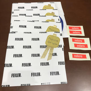 フェイラー(FEILER)のフェイラー ギフト袋 5枚(ショップ袋)