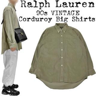 Ralph Lauren - ★美品★Ralph Lauren★ラルフローレン★90s★コーデュロイ シャツ★