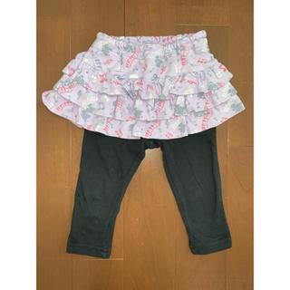 ベルメゾン(ベルメゾン)の☆ミニーマウス☆スカッツ スカート 80㎝(パンツ)