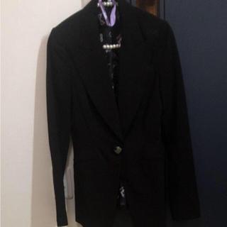 スライ(SLY)のSLY スライ テーラードジャケット 黒(テーラードジャケット)