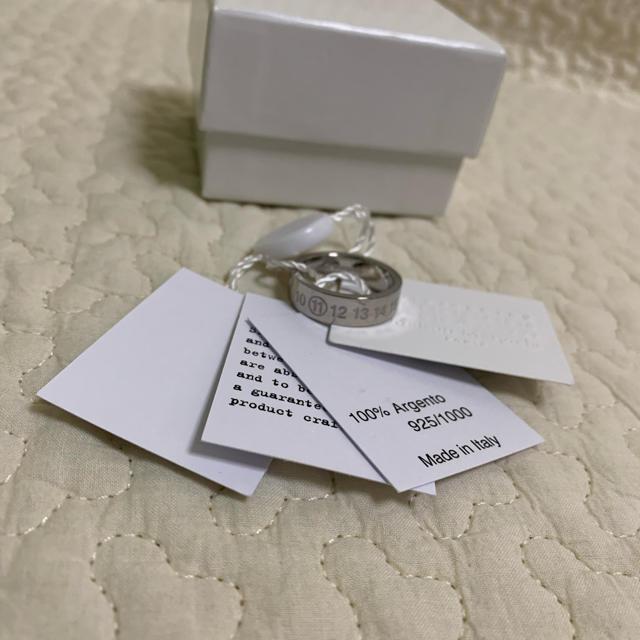 Maison Martin Margiela(マルタンマルジェラ)の20AW新品S メゾン マルジェラ ナンバリング リング 指輪 新作 メンズ メンズのアクセサリー(リング(指輪))の商品写真