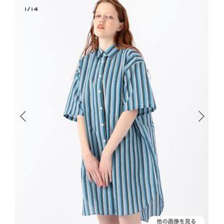 アクネ(ACNE)のacne studios  ストライプシャツ(シャツ/ブラウス(半袖/袖なし))
