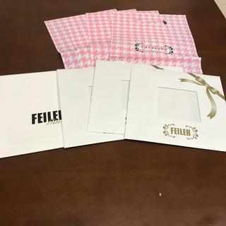 フェイラー(FEILER)のフェイラー ギフト袋 4枚(ショップ袋)