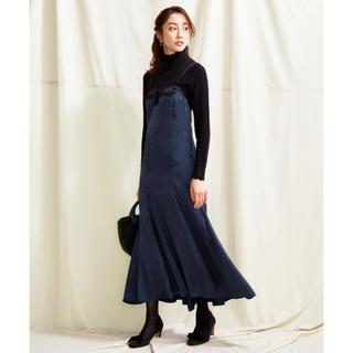 トッカ(TOCCA)の【TOCCA LAVENDER】Lace Satin Cami Dressドレス(ロングワンピース/マキシワンピース)
