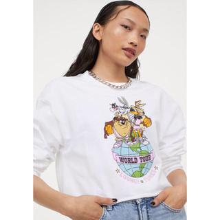 エイチアンドエム(H&M)のロゴ ロンT(Tシャツ(長袖/七分))