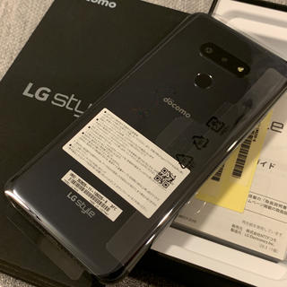LG Electronics - 【新品】 LG style3 L-41A ブラック simフリー 可能 ドコモ