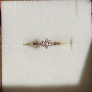 ジュエリーツツミ(JEWELRY TSUTSUMI)のダイヤモンドリング ハートアンドキューピット(リング(指輪))