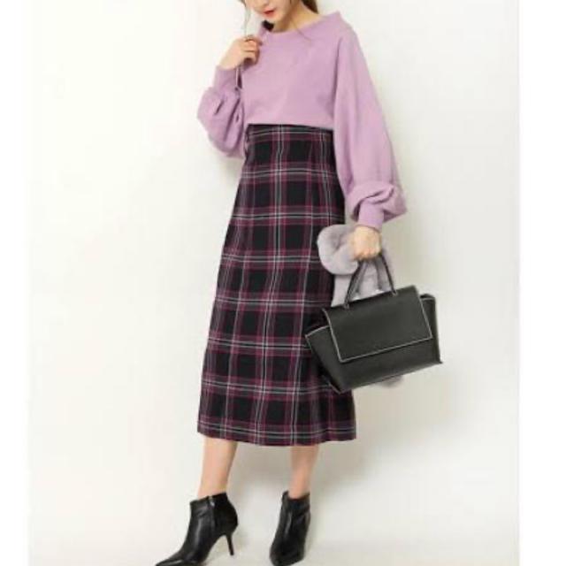 snidel(スナイデル)のSNIDEL チェックスカート レディースのスカート(ロングスカート)の商品写真