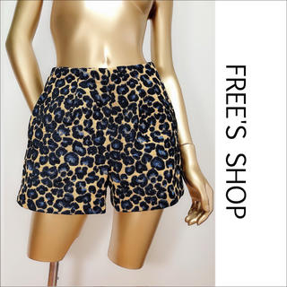 FREE'S SHOP - FREE'S SHOP レオパード柄 ショートパンツ♡ユナイテッドアローズ