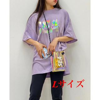 新品 WIND AND SEA IRIDESCENT PURPLE Lサイズ(Tシャツ(半袖/袖なし))